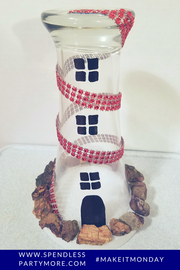 base - lighthouse centerpiece